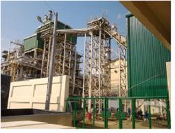 Sugarcane ethanol plant in the Phillippines
