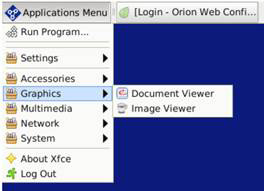 Path to Document Viewer on Direct Video OrionLX