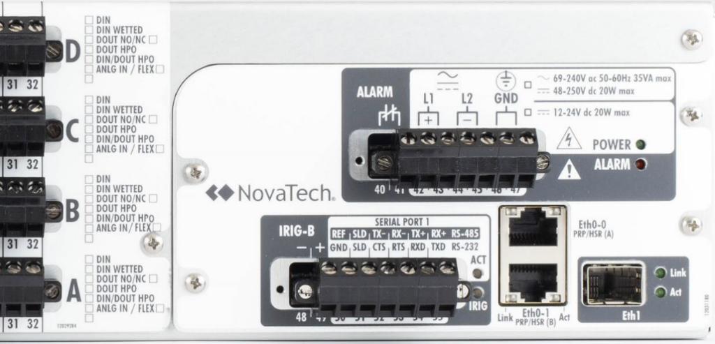 Orion I/O PRP/HSR network option